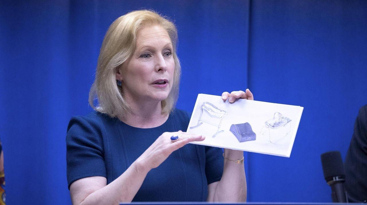 Sen. Kirsten Gillibrand on Sunday called on retailers