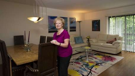 Barbara Tisch and her husband bought this two-bedroom,