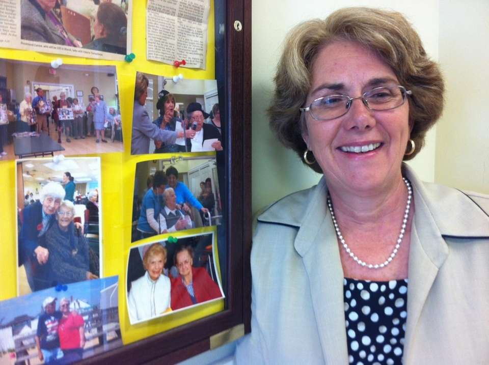 Pam Giacoia is director of senior citizen services