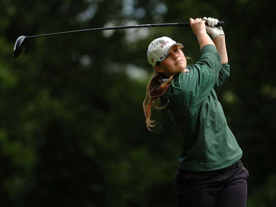 ALL-LONG ISLAND GIRLS GOLF SECOND TEAM Taylor Lambrou,