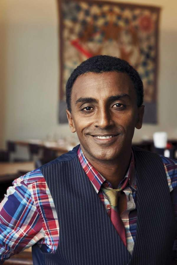 Marcus Samuelsson, author of quot;Yes, Chefquot; (Random House,