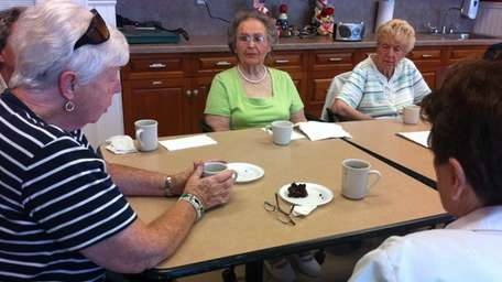 A group of senior citizens participates in the
