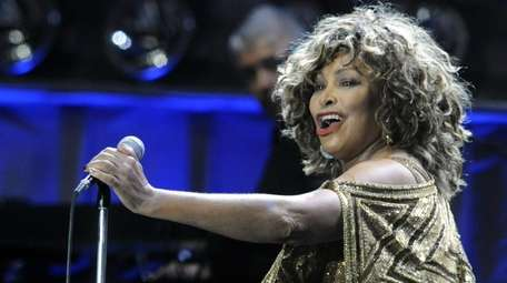 Tina Turner performs during her 2009 concert in