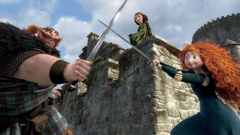 Brave:' Pixar princess with mother issues   Newsday