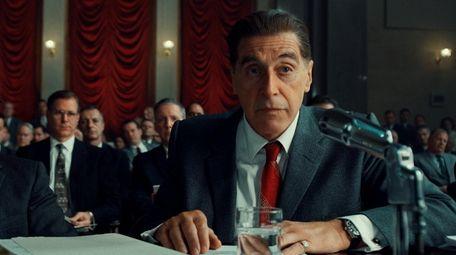 """Al Pacino, right, in Martin Scorsese's """"The Irishman."""""""