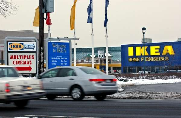 The Ikea at Broadway Mall in Hicksville, in