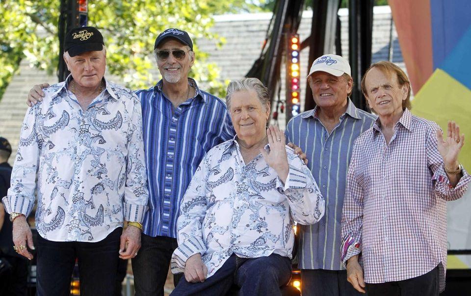 Original members of The Beach Boys, from left,