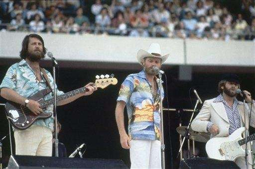 The Beach Boys in concert at Giants Stadium