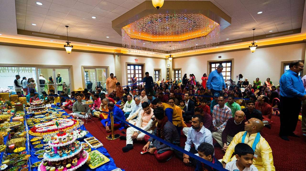 Hindus celebrate Diwali, the Indian new year and