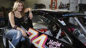 Marisa Niederauer, a modified race car driver is