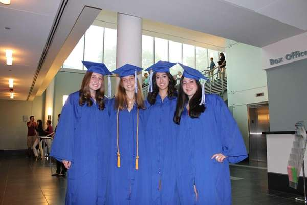 Amanda Messina, left, Nicole Levin, Rebecca Nourmand and