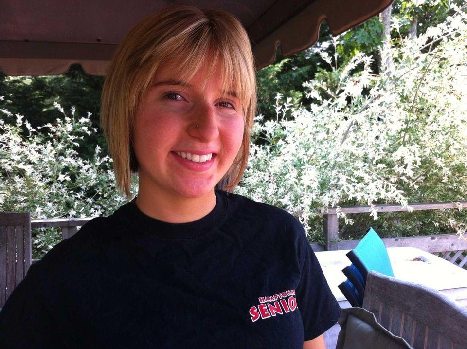 Hampton Bays High School senior Alyssa Sardone, 18,