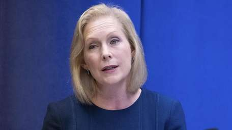 U.S. Sen. Kirsten Gillibrand, seen on Sunday, says