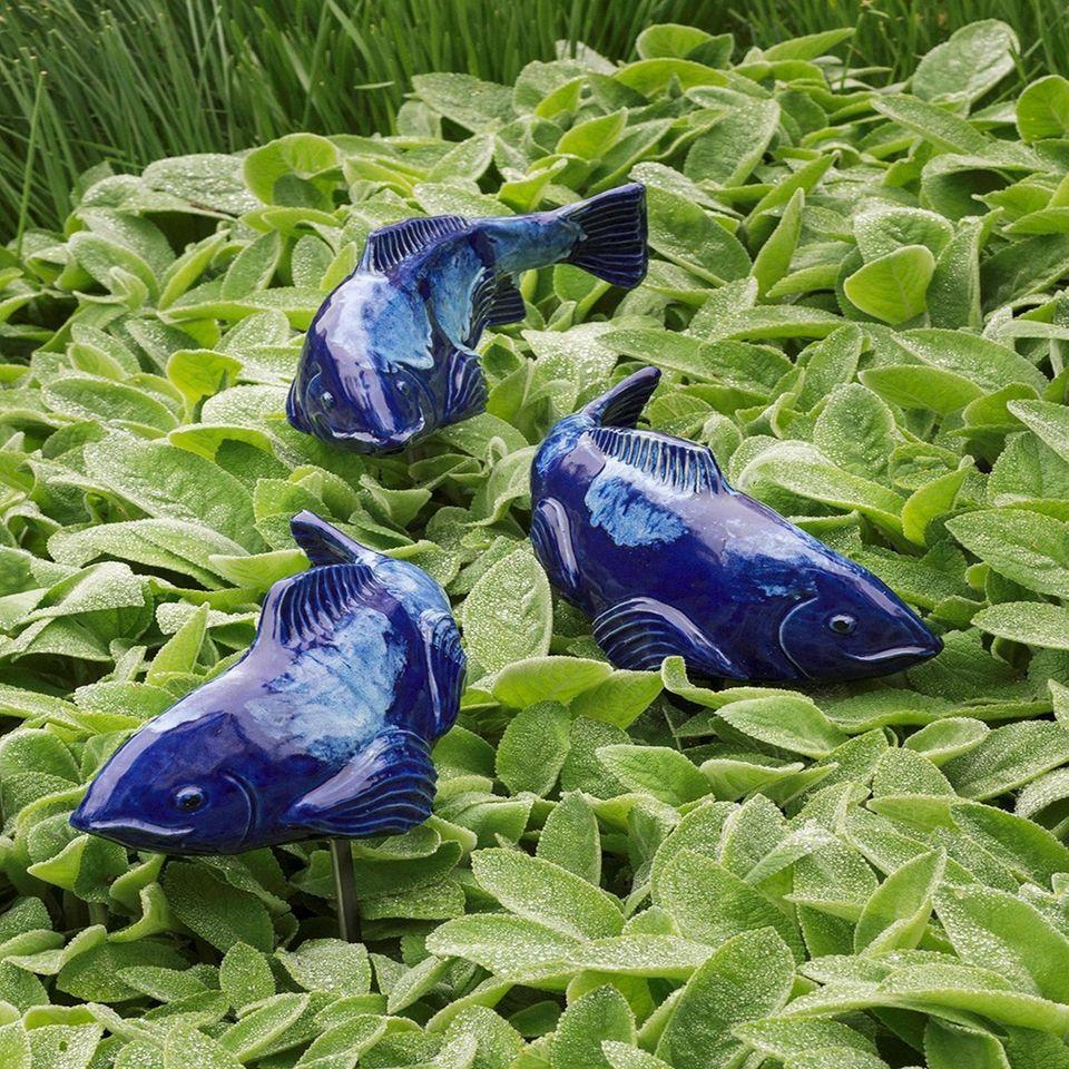Brighten up your garden with handmade swimming koi