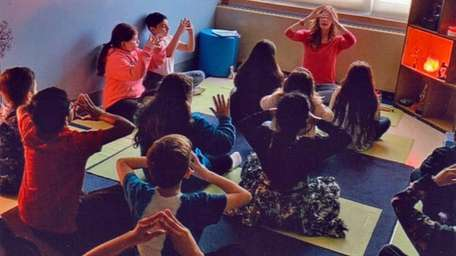 Tracey Kramer's fourth-graders at Duffield Elementary School in