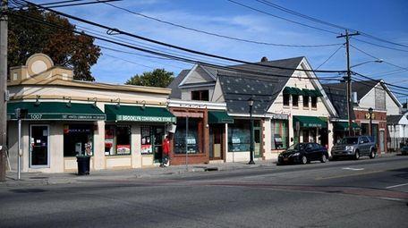 Prospect Avenue in New Cassel.