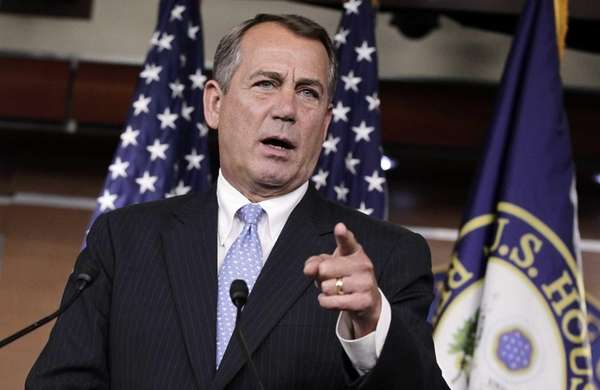 House Speaker John Boehner defends the contempt of
