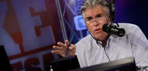 WFAN afternoon radio host Mike Francesa at the