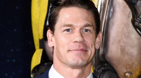John Cena attends the premiere of the Transformers