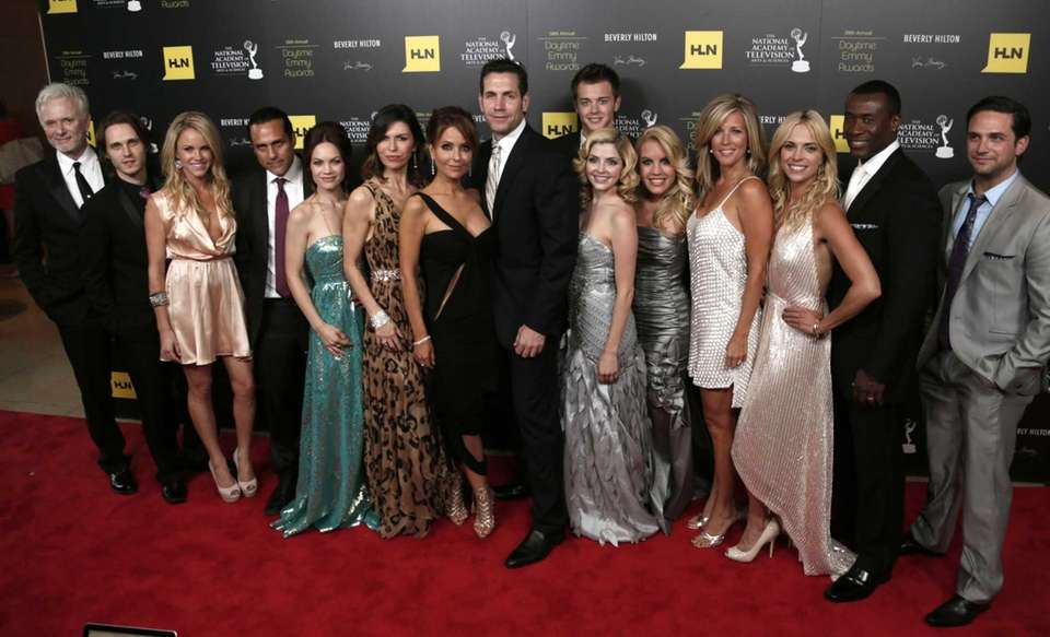 "The cast and crew of ""General Hospital,"" winners"