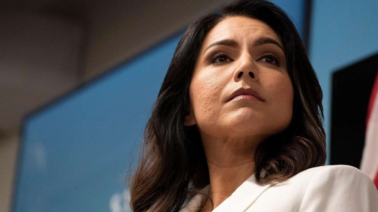 Democratic presidential candidate Rep. Tulsi Gabbard, at the