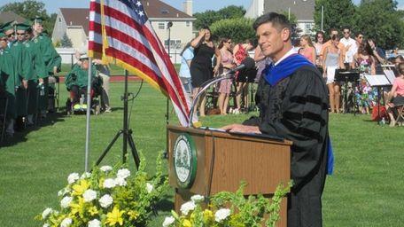 Dr. David Bennardo, principal of Harborfields High School