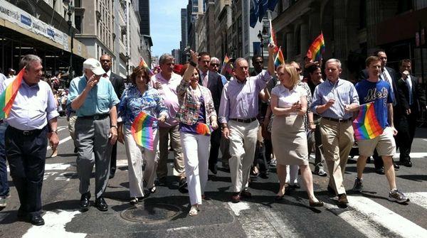 U.S. Senator Kirsten Gillibrand along with City Council