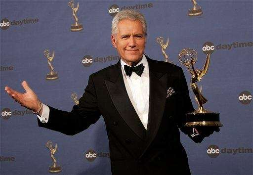 Alex Trebek holds the award for outstanding game
