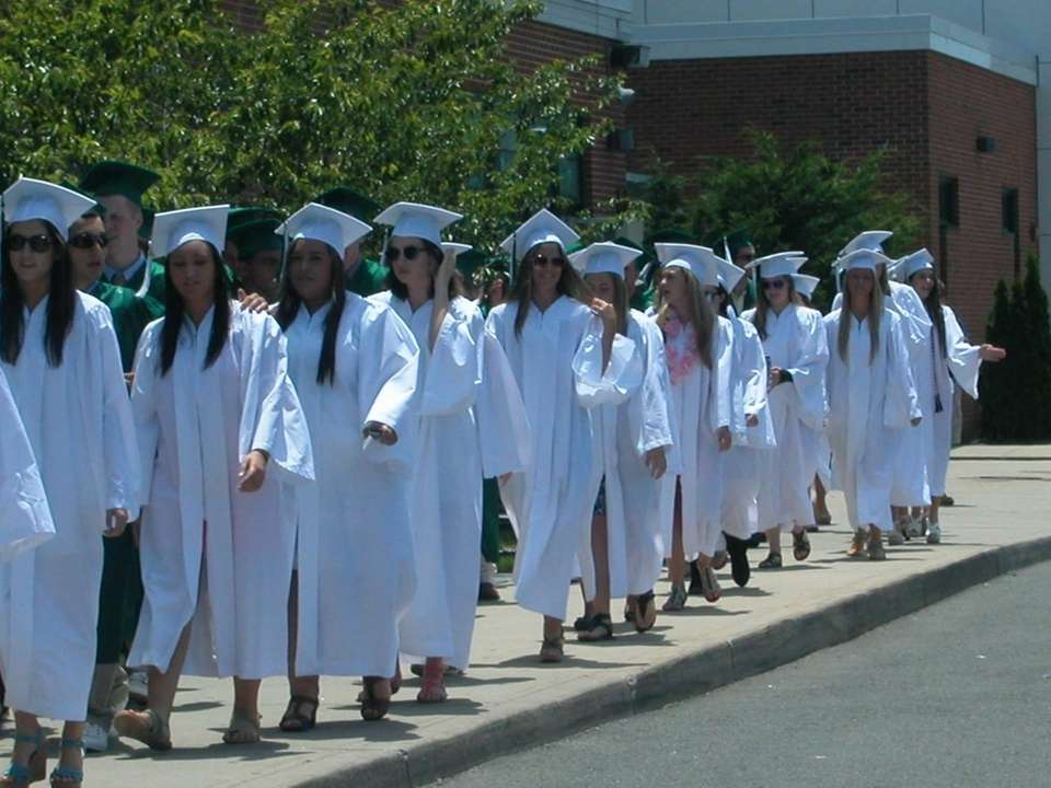 Westhampton Beach High School's Class of 2012 graduated