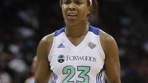 In this file photo, Cappie Pondexter reacts after