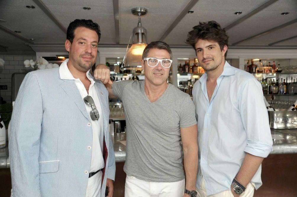 Paul Weiner, Cory Lane, and Vincent Ventemini