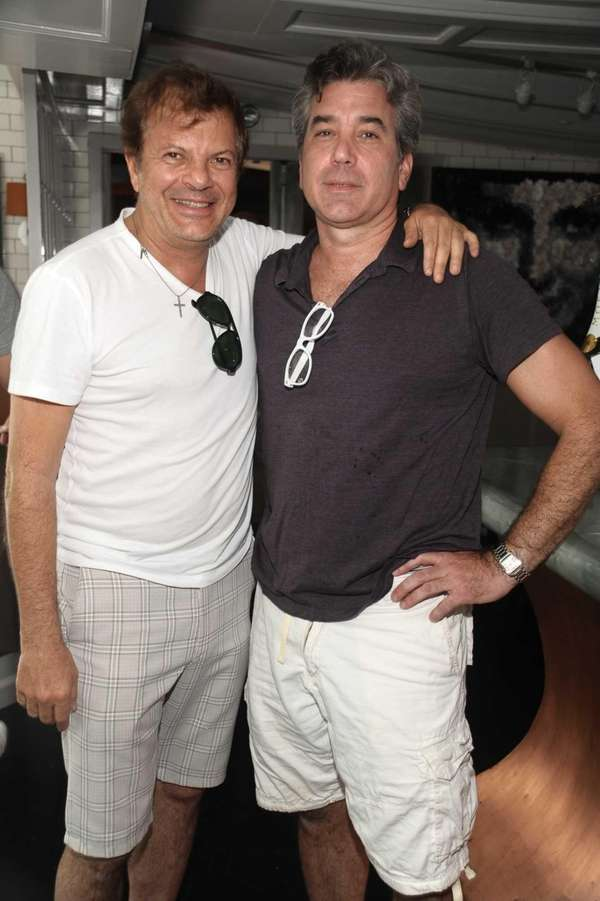 Rocco Ancarola and Jonathan Rapillo attend the Moet