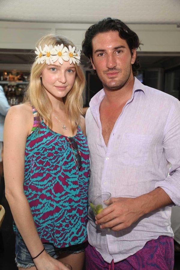 Rachel Scott and Alex Rosenblatt attend the