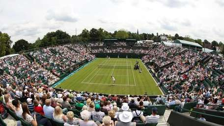 The 2012 Wimbledon Lawn Tennis Championships at the
