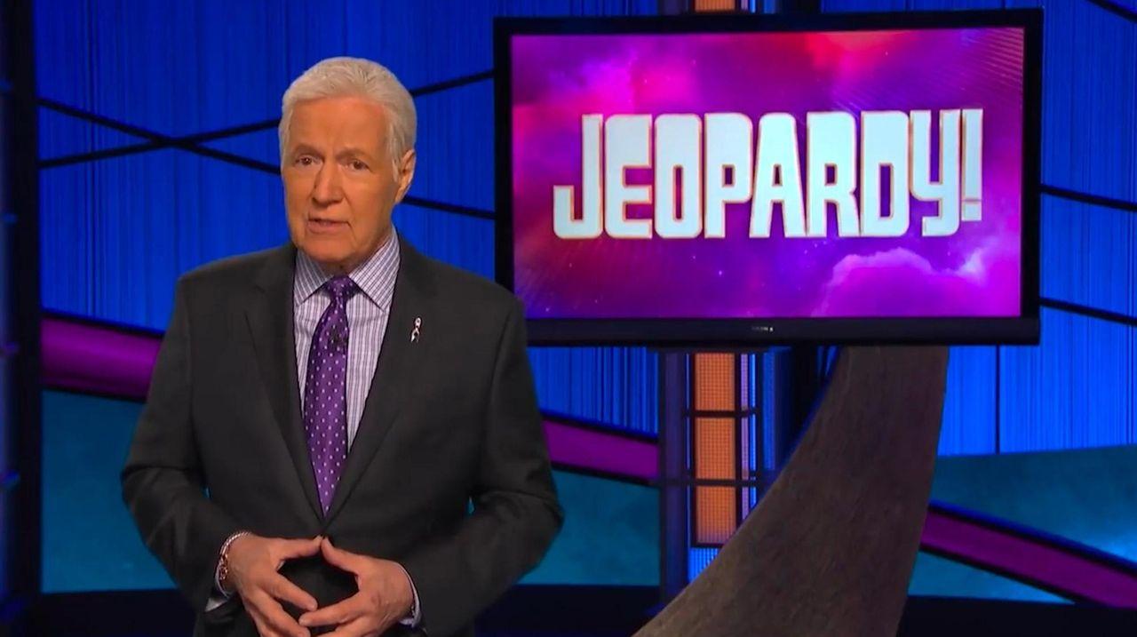 """""""Jeopardy!"""" host Alex Trebek in a new public"""