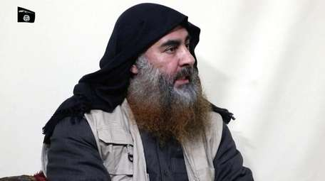 The leader of the Islamic State group, Abu