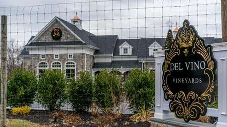 The owner of Del Vino Vineyards in Northport