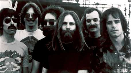 Members of the Grateful Dead, from left, Mickey