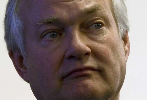 NHL Players Association executive director Donald Fehr listens