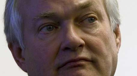 NHL Players Association executive director Donald Fehr listens