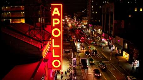 The Apollo Theater marquee from HBO's documentary film