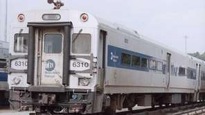A Metro-North train is seen in this undated
