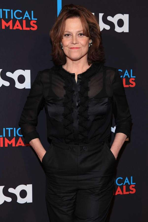 Sigourney Weaver attends USA Network's