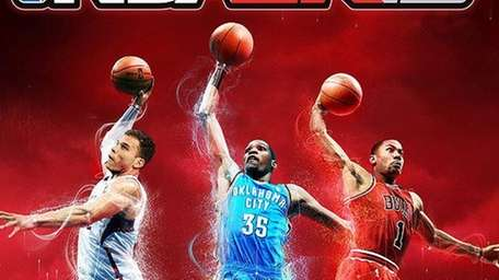 The cover of NBA 2K13.