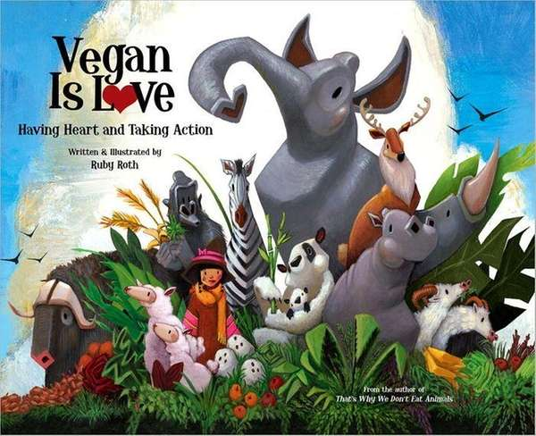 "Aimed at children, ""Vegan is Love"" has triggered"