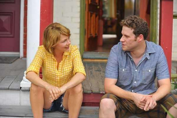 Michelle Williams and Seth Rogen in quot;Take This