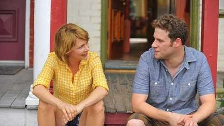 Michelle Williams and Seth Rogen in