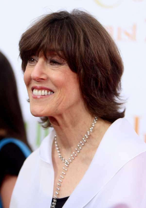 Nora Ephron at the 'Julie & Julia' premiere