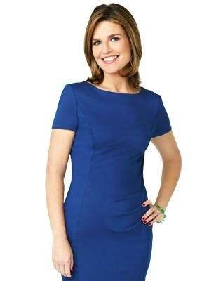 Savannah Guthrie of the quot;Todayquot; show in a