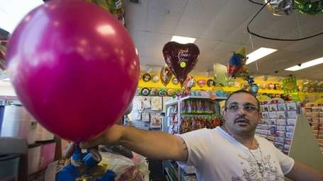 The nationwide shortage of helium has caused stores
